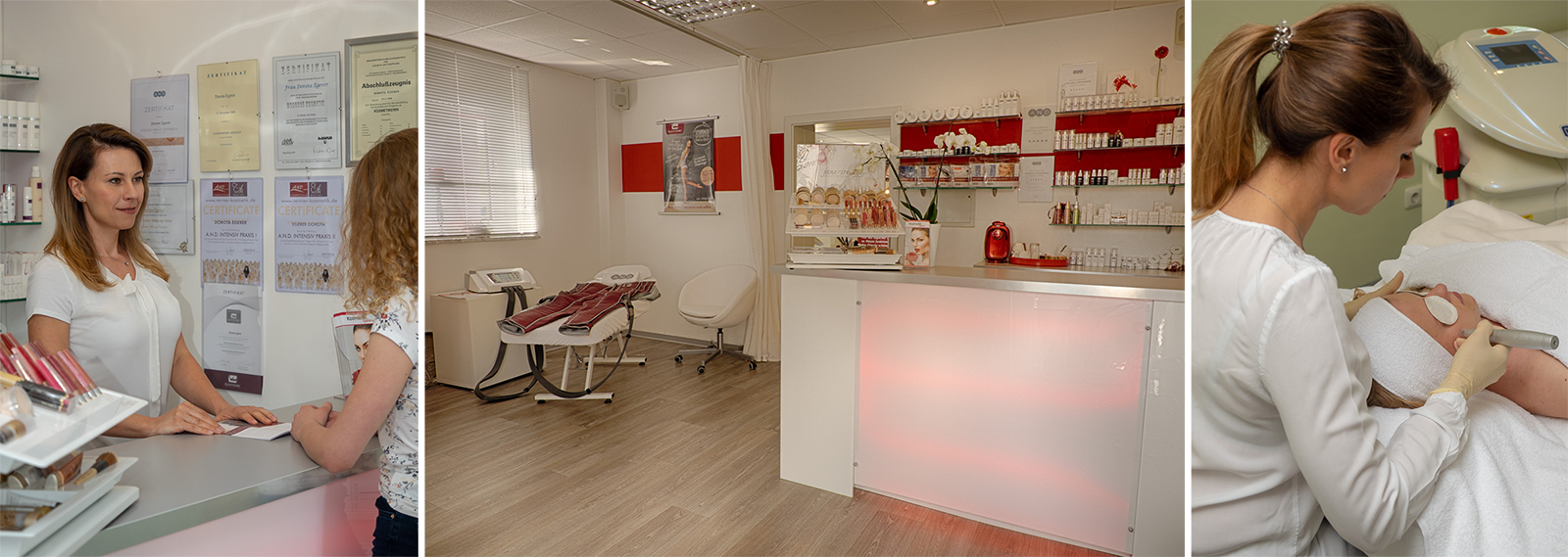 Studio & Behandlung | Kosmetikstudio Egerer